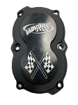 Winters Billet 6-Bolt Quick Change Gear Cover (Black)