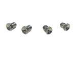 Low Profile Grease Zerk Fittings (4-Pack)