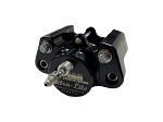 Red Devil Ultra-Lite Single Piston Floating Caliper (Black)