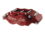 Red Devil Ultra-Lite Radial Mount 4-Piston Inboard Caliper- .810 (Red)