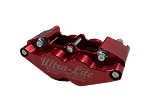 Red Devil Ultra-Lite Mini 4 piston Caliper (Red)