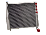 Saldana Sprint Car Crossflow Radiator-Big Tube