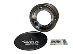 Weld Sprint Car Wheel- Direct Mount 15x8-4off With Beadlock (Black Cover)